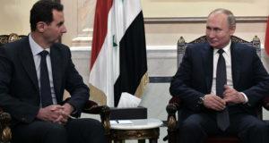Путин и Асад договорились не разглашать детали визита в Сирию год назад